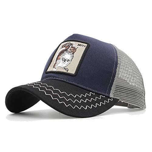 Gorras de bisbol de Moda Hombres Mujeres Snapback Hip Hop Sombrero Verano Sombrero de Malla Streetwear Gorra-a7