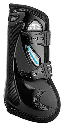 VEREDUS Carbon Gel Vento Boots-Black-Front-Medium