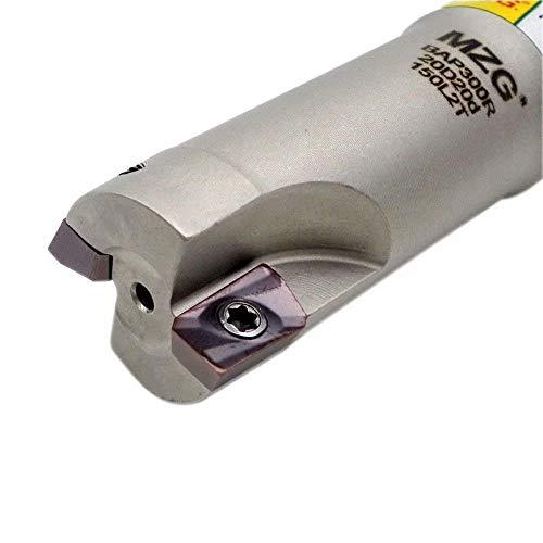 Maifix BAP300RC20-20-150-2T Molino de corte con abrazadera CNC Herramientas de fresado de...