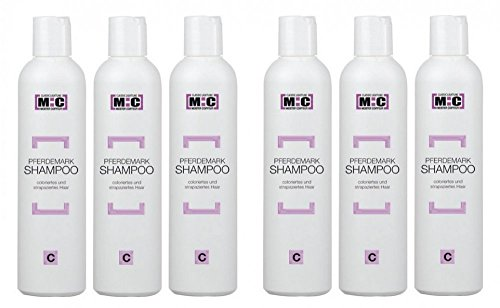 Meister Coiffeur Pferdemark Shampoo C 6 x 250 ml für coloriertes und strapaziertes Haar von M:C