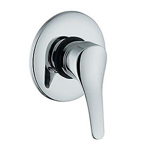 Ambrosiana sei14030000grifo mezclador ducha serie completa de cuerpo integrado, Cromo