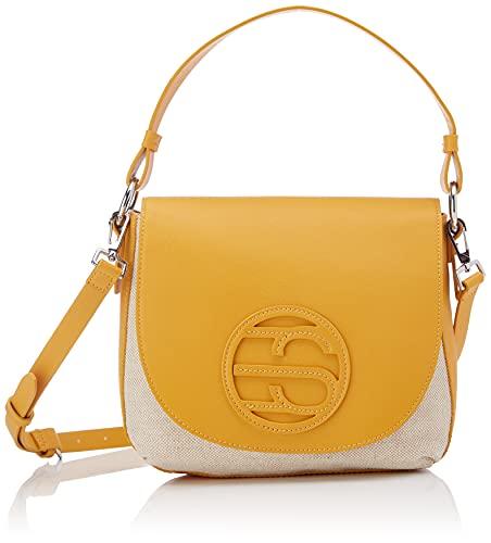 ESPRIT 041EA1O316, Borsa a Cartella Donna, 750/giallo, Taglia Unica