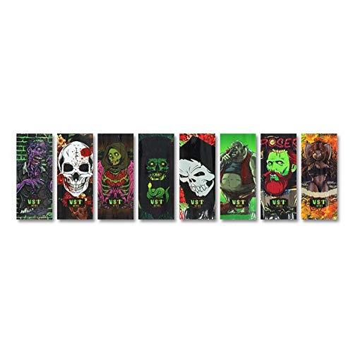 Zombies Series - Wraps pour accus 18650 (5pcs) - Zombies Series - Poser