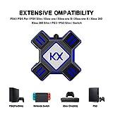 Zezego Adaptateur, convertisseur de Souris pour Clavier pour PS3 PS4 Xbox One Switch APEX 90.17 x 90.17 x 27