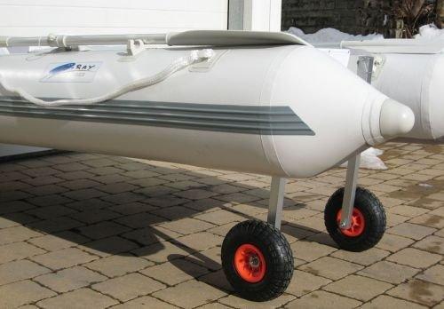 VIAMARE Unisex - slipreder voor opblaasbare boot, grijs