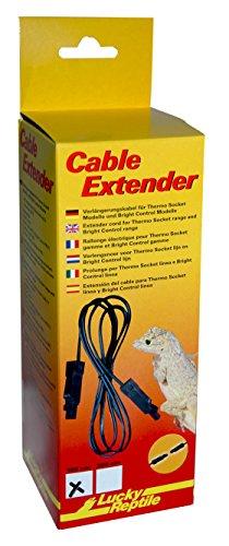 Lucky Reptile Cable Extender 100 cm, Verlängerungskabel für Lucky Reptile Fassungen und Vorschaltgeräte