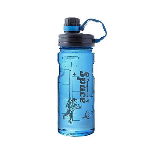 Befitery, borraccia sportiva con grande capacità a prova di perdite, senza BPA, per bambini, scuola, sport (blu, 3000 ml)