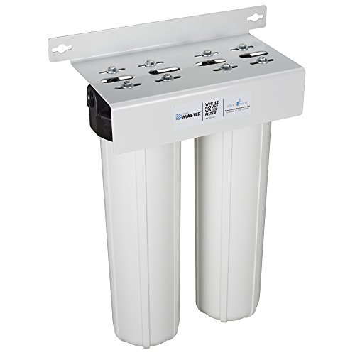 Home Master HMF2SmgCC Whole House Two Stage Filtration System Water Filter, 28x18x9