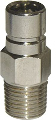 SeaSense Suzuki/Honda Fuel Connector 1/4-Inch NPT Male Chrome-Plated Brass by Unified Marine, Inc.