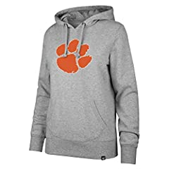 Midweight 60% cotton 40% polyester blend; Relaxed, feminine fit Lightly brushed, super soft interior; Ribbed details enhance durability Distressed screen printed graphics for a vintage look Officially licensed product of the National Collegiate Athle...