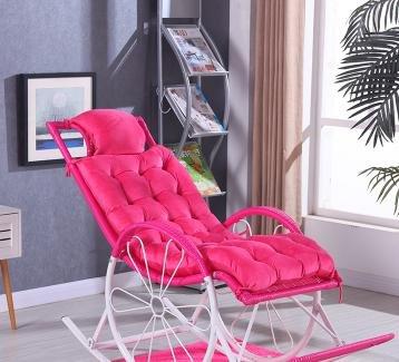 Desy salón silla cojines silla mecedora cojín reposacabezas cojines Fold Pan Mat (no incluir la...