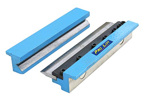 Pro-Lift-Werkzeuge Abkantbacken Biegebacken 200 mm mit Magnet Winkel-Bieger manuell Blechbiegearbeiten Schraubstock Schonbacken