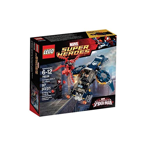 LEGO Marvel Super Heroes 76036 - Carnages Attacke auf Shield
