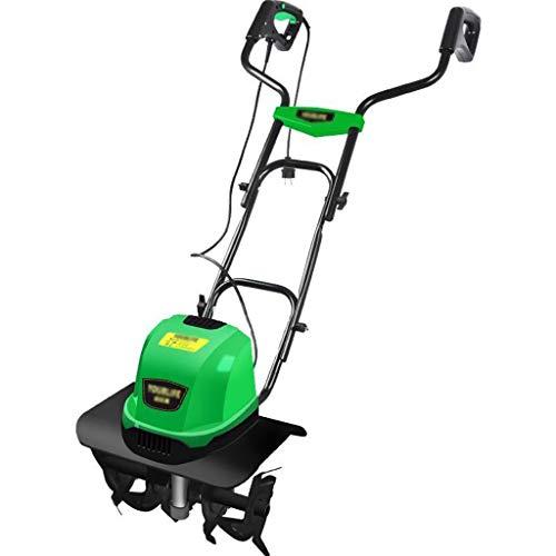 QILIN 1500 W Electric Ripper: Working Width 46Cm, Maximum Lawn Area 1000M², Adjusting Lever, Detachable Handlebar