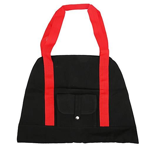 Bolsa de lona portátil, moda multifunción y bolsa de lona de gimnasio combinada de dos colores llamativa hecha de 100% material de lona, gran capacidad de almacenamiento para gimnasio, esterilla de