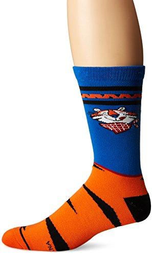 Cool Socks Men's Tony The Tiger (Knit), Multi, Shoe Size:8-12