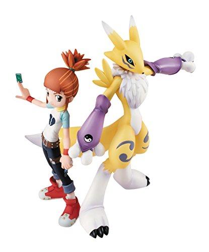 Megahouse Digimon Tamers Gem Series renamon & ruki PVC Figur