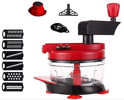 WWG Picadora de Cebolla, picadora de Carne Manual, máquina