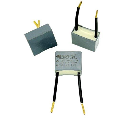 20x Entstörkondensator radial 0,22µF 275V AC ; RM15 ; R46KI3220YCM1K ; 220nF