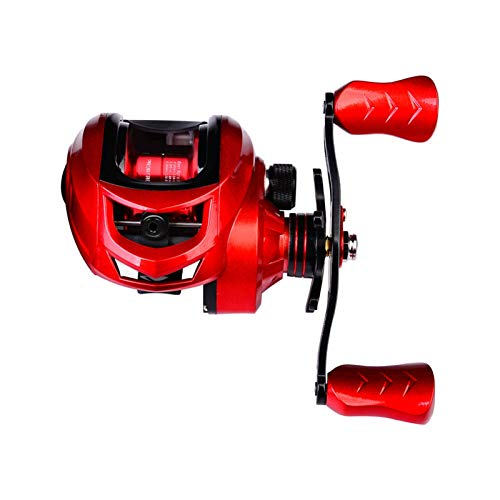CXJYBH Alta Velocidad 7: 2: 1 Carrete de Pesca 10kg MAX MAX Drag Bait Wheel Rueda de Gota de Agua Izquierda/Derecha Agua Salada Mar Ocean Fishing Accessor Carretes Casting