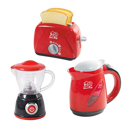 PlayGo Chef Kitchen Collection (My Toaster, My Mixer, Deluxe Wasserkocher)