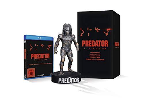 Predator 1-4 Blu-ray Box + Statue