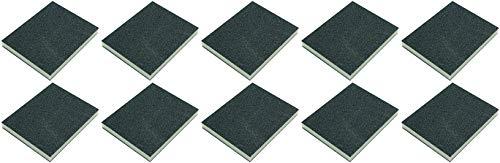 Mirka Schleifpad aus weichem Schaumstoff, feine mittelgrobe Körnung – 120 x 98 x 13 mm