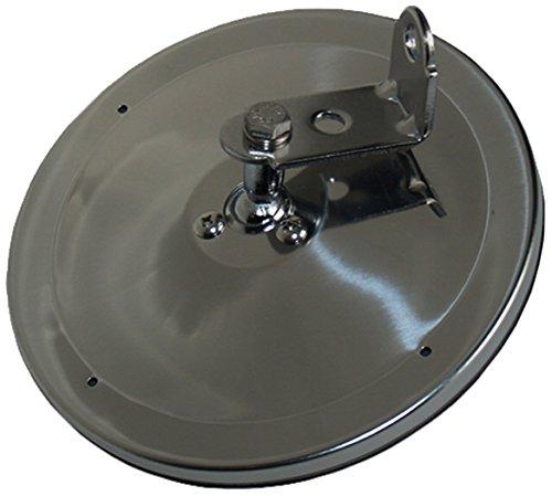 Velvac 708515 6' Center Mount Convex Mirror, Stainless Steel, 1 Pack