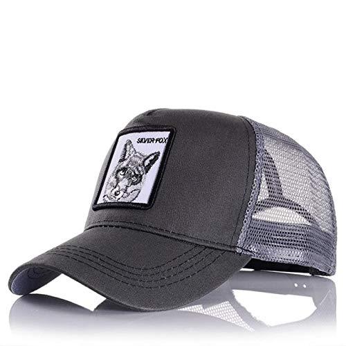 Gorras de bisbol para Hombre, Mujer, Ajustable, Universal, Exteriores, Sombra, pap, Conductor de camin, Sombreros de Malla-a54