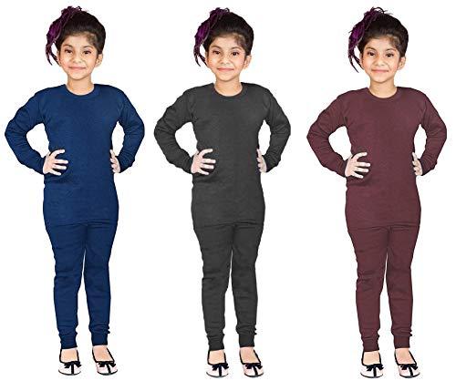 Okara Kids Full Sleeves Thermal Top & Pajama Set for Boys &...