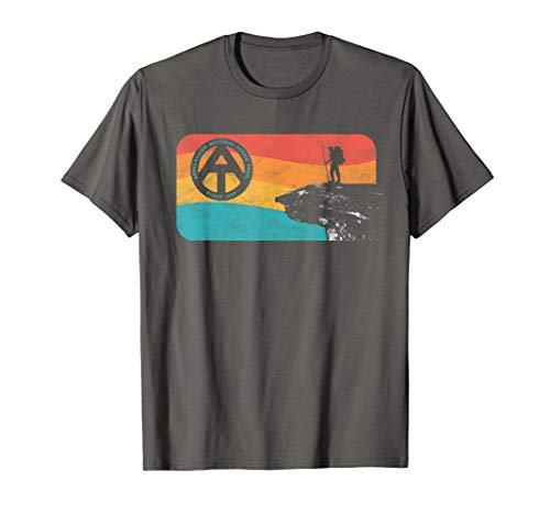 Appalachian Trail Retro McAfee's Knob Hiking T-Shirt