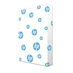 Made in USA - HP papers is sourced from renewable forest resources and has achieved production with 0% deforestation in North America. See images. Optimized for HP technology - all HP papers provide premium performance on HP equipment, as well as on ...