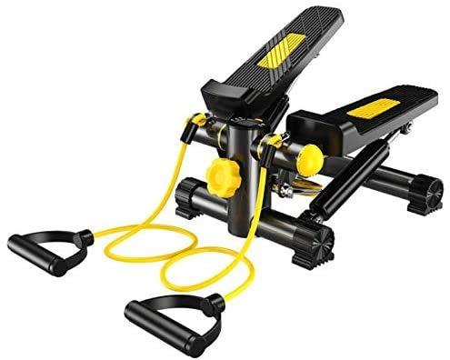 RENXR Mini Übung Stepper Laufband Beine Arme Pedal Exerciser Steppers Laufmaschinen Sport Heimtrainer Aerobic Gym Yoga Weight Loss-Maschine