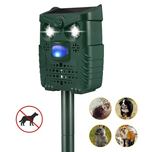 Got-luck Ultrasonic Dog Repellent, Ultrasonic Stop Barking Device, USB Rechargeable Dog Bark Control for Outdoor