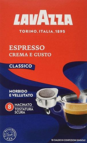 Lavazza Crema e Gusto Espresso, Caffè in Cialde ESE, Confezione da 216 Cialde