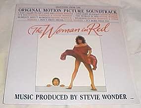 The Woman in Red Original Motion Picture Soundtrack (Stevie Wonder, Dionne Warwick) Record Vinyl Album LP