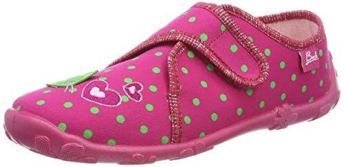 Beck Kätzchen, Zapatillas de Estar por casa para Niñas, Rosa (Pink 06), 27 EU