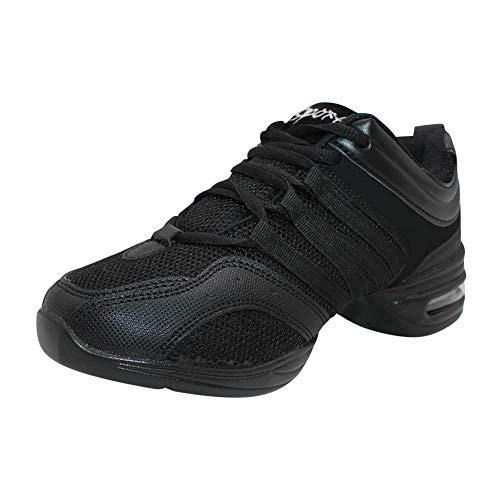Yudesun Zapatos Aire Libre Deportes Danza Mujer - Mujeres Lona Cordones Suela de Goma Zapatillas Moda Practicidad Running Sneaker Jazz Contemporáneo Baile Informal (Los Zapatos Son más pequeños)