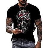 SSBZYES Camisetas De Hombre Camisetas De Cuello Redondo De Hombre Camisetas De Verano De Manga Corta De Manga Corta Camisetas De Talla Grande Tops Casuales De Moda De Hombre Manga Corta Estampado