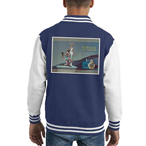 Cloud City 7 Fersace Parfum Advert Parodie Varsity Jas voor kinderen