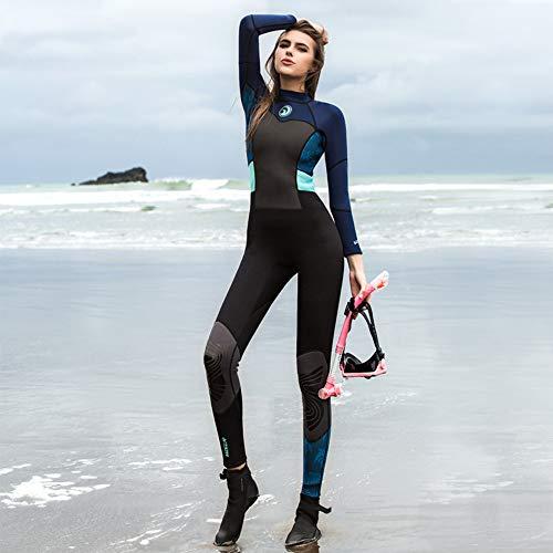La Mode New Surf Costume, Couverture Complète pour Dames Plongée Costume, De Haute Qualité, Multi-Couleur en Option,A,S