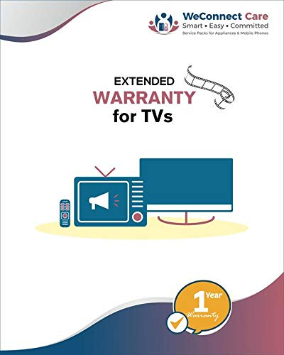 WeConnect Care - 3 Years Extended Warranty for Kevin LED TVs (32...