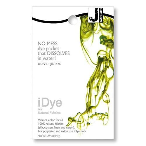 Jacquard iDye Fabric Dye 14g-Olive
