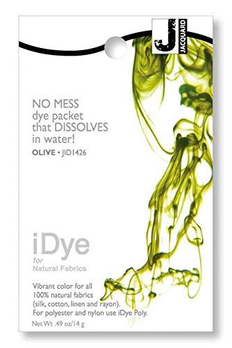 Olive Jacquard iDye Fabric Dye 14 Grams IDYE-426