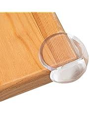 MeguLico コーナーガード コーナークッション 透明 20個セット(L型10個・丸型10個) 家具の角を保護 テーブルガード 赤ちゃん ガード シリコン 両面テープ付