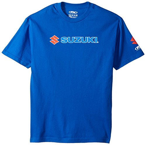 Factory Effex  15-88462 'Suzuki' Team T-Shirt (Blue, Large)