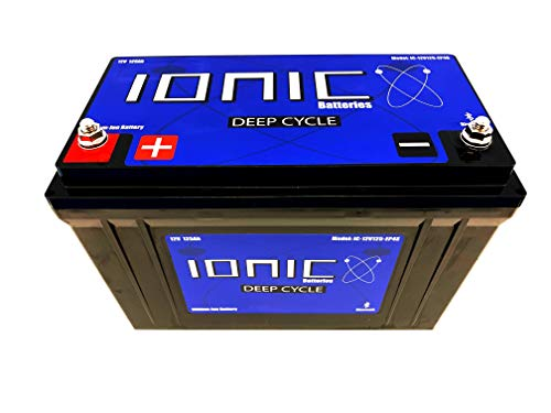 Ionic Lithium Ion Deep Cycle Battery 12V50-EP