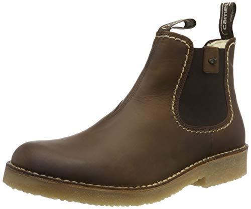 camel active Herren Havanna 15 Chelsea Boots, Braun (Bison 12), 42.5 EU (8.5 UK)