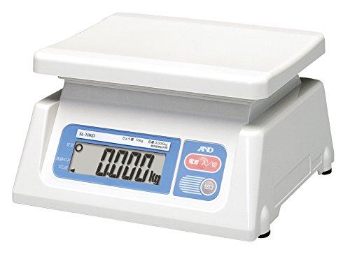 A&D デジタル両面表示はかり SL-10KD ≪ひょう量:10kg 最小表示:0.005kg 皿寸法:230(W)*190(D)mm 検定無≫