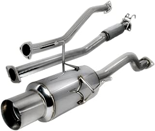 Spec-D Tuning MFCAT2-CV064 Honda Civic 4dr Sedan N1 Catback Exhaust System